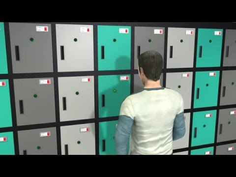 Warehouse Locker boxes and Storage boxes Solution