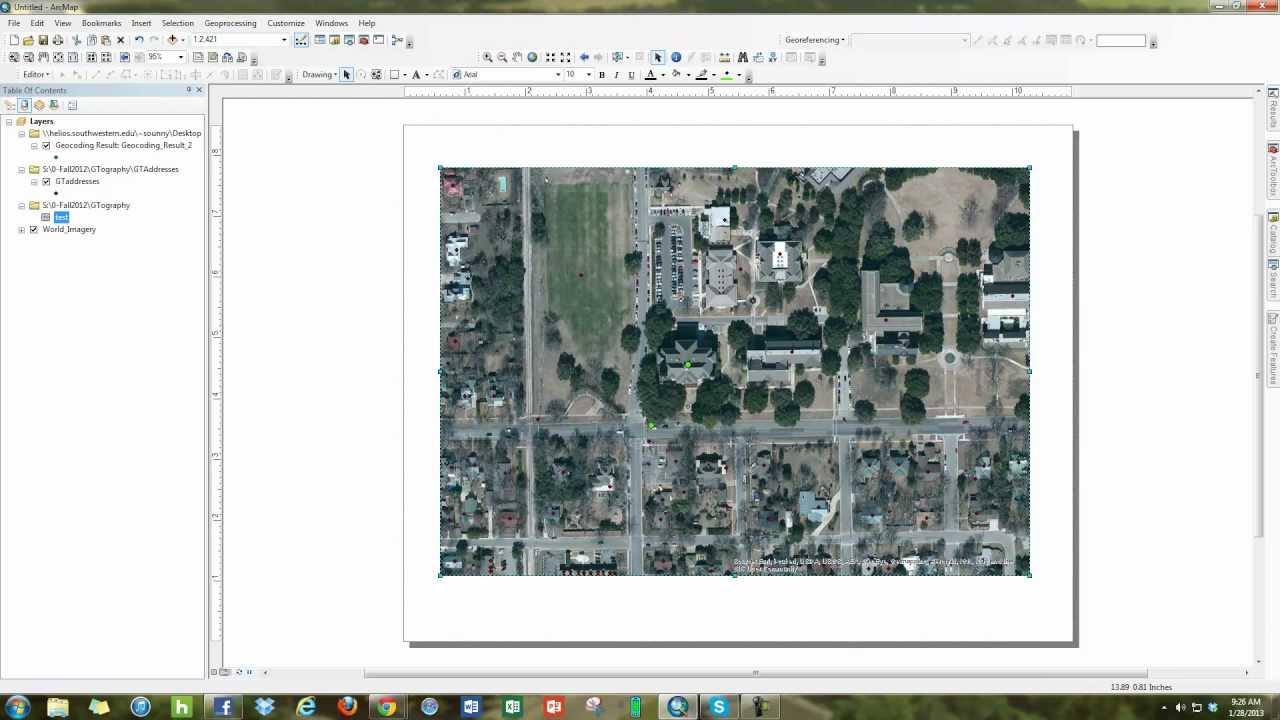 how to make arcmap landscape