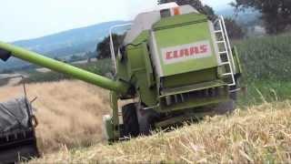 Żniwa 2013 - Upalna zadyma / Claas Dominator 88s