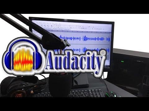 Para Iniciantes | Como Usar o Programa Audacity 2018