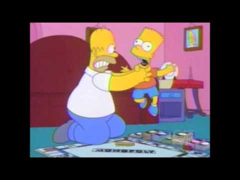 The Simpsons - Monopoly Night