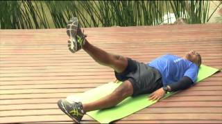 Treino e pernas inchadas doloridas após o