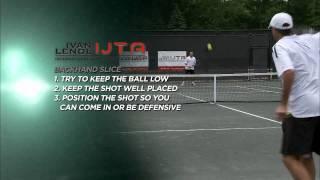 Ivan Lendl Instruction- Backhands