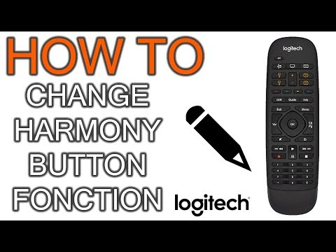 How to Change Harmony Remote Button Fonction