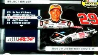 NASCAR 07 REVIEW PART 4