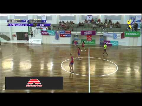 Club Goes Vs Mun. Vte. Lopez  - Pan de Clubes - Asunción 2017
