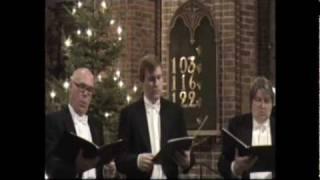 Mats Calvén, Glenn Bengtsson and Stellan Dahlin sing När det lider mot Jul by Liljefors in 2009