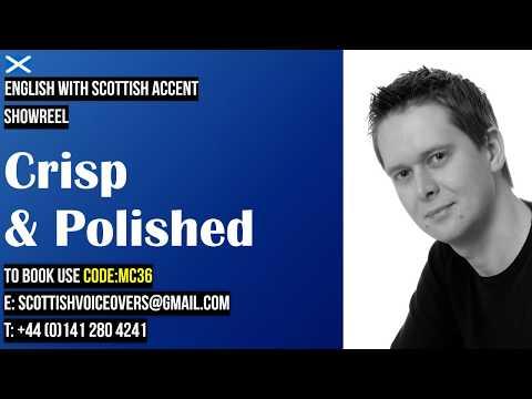 MC36 Crisp & Polished - Scottish Male Voice Actor - Showreel