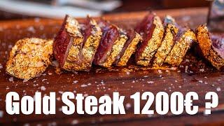 On Teste le Steak en OR de RIBERY chez SALT BAE