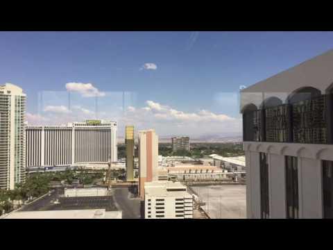 Riviera Hotel and Casino Monaco tower penthouse view Las Vegas strip