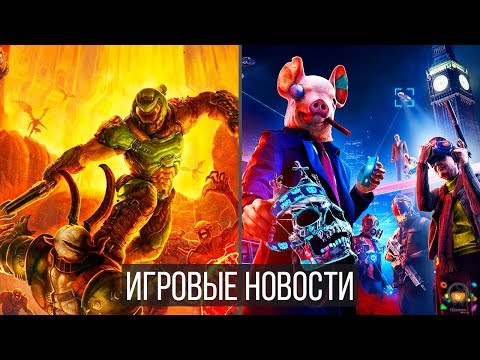Игровые Новости — Watch Dogs Legion, DOOM Eternal, Deathloop, Quarantine, Ghostwire Tokyo, UbisoftE3