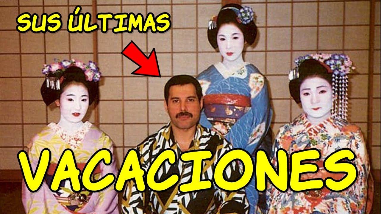 ¿Qué hizo FREDDIE MERCURY en JAPÓN?
