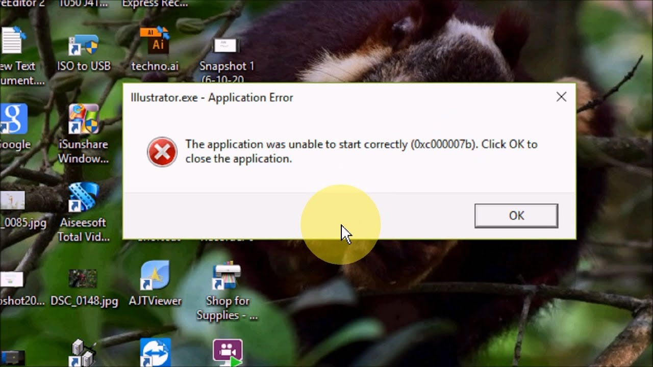 How To Fix Illustrator Error The Application Was Unable To Start