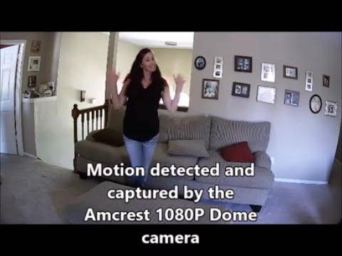 Amcrest 1080P POE Dome IP Security Camera