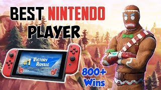 Fortnite Best Nintendo Switch Player 860+ Wins! (Scrim 1v1 Games) NEW MEMBER EMOJIS