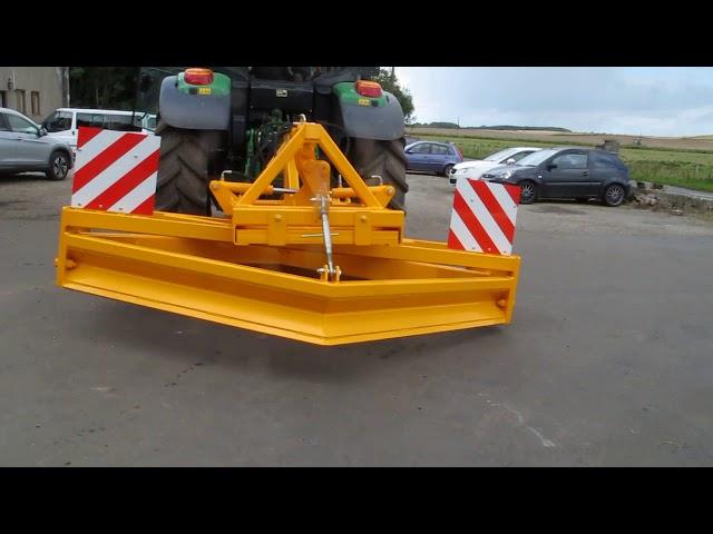Road Grader MK 2 with tilting frame