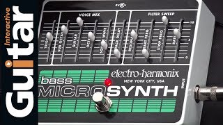 Electro Harmonix Bass Microsynth | Review