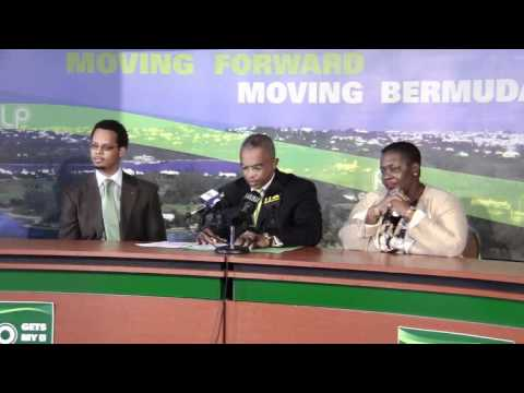 PLP Confirm Candidate Rolfe Commissiong Bermuda Apr 9 2012