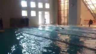 Чемпионат 58 Армии по военно-прикладному плаванию. В/с 100м