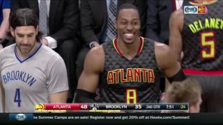 Howard rejects Lin's handshake with a dab