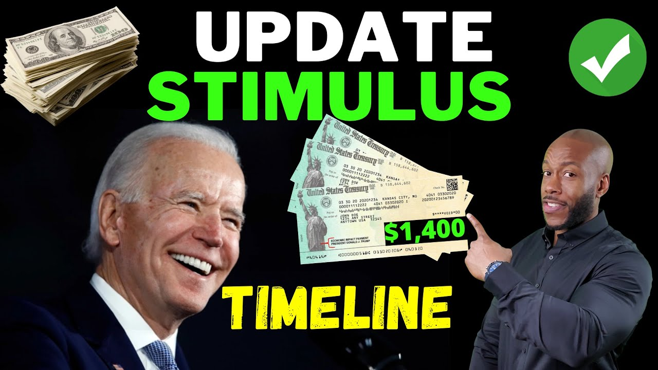 Download YES!! $1400 + $600 Third Stimulus Check Update + BIDEN'S $1.9T STIMULUS PACKAGE!