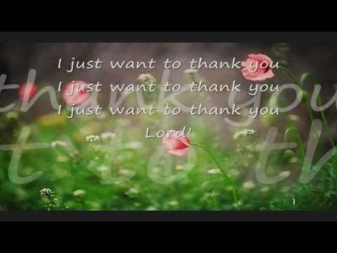 I Just Want to Thank  You Lord (Kids)(Lyrics) (Sunday School Jamz) (HD)