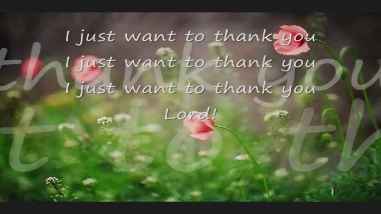 Thank You Lord lyrics by Hillsong - original song full ...