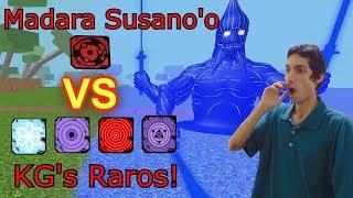 Madara Susanoo VS all the rare KG! Roblox: NRPG: Beyond
