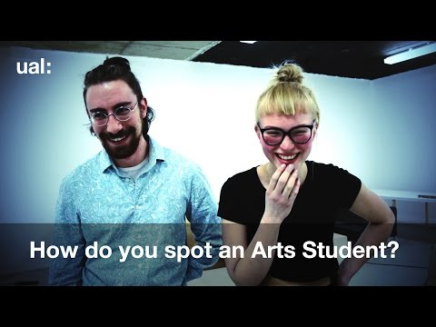 How do you spot an arts student?