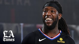 Montrezl Harrell, the newest Laker, talks about his role