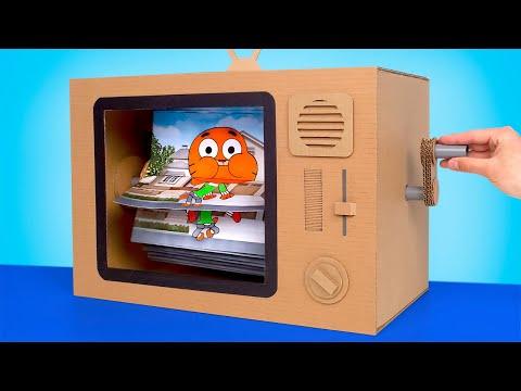 DIY INCREDIBLE Cardboard TV Craft