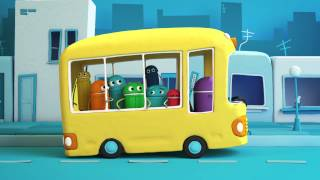the wheels on the bus classic songs by storybots