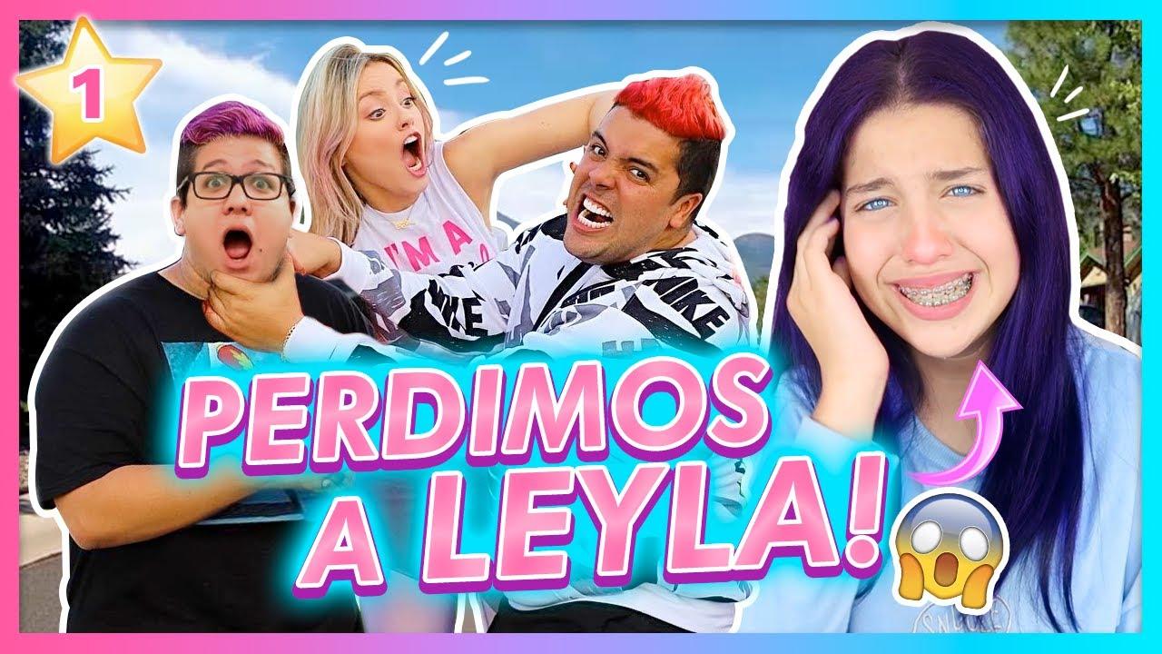 SE PERDIÓ LEYLA!!😱💔 AYUDA!!! | CAP 1 TEAM ANGEL