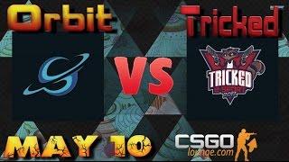 CSGO Lounge Betting Predictions - Orbit vs Tricked / ZefirTV Predicts
