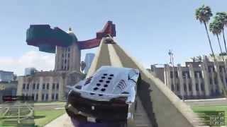 GTA 5 ONLINE - ESPIRAL EN UN EDIFICIO!! - CARRERA GTA 5 ONLINE