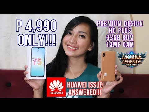 HUAWEI Y5 2019- UNBOXING & FULL REVIEW - HUAWEI ISSUE ANSWERED!!!