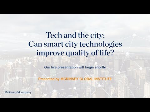 Tech and the city: Can smart city technologies improve quality of life?
