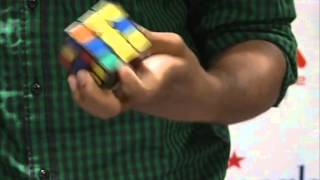 Indian youth enters Guinness records for speedcubing