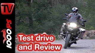 BMW R 1200 GS Adventure 2014 | Review | Action, Onboard, Details