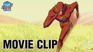 JLA Adventures Trapped in Time FLASH & CYBORG Clip