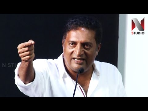 Who are you to tell, Im not a Tamil... Prakash Raj Angry speech