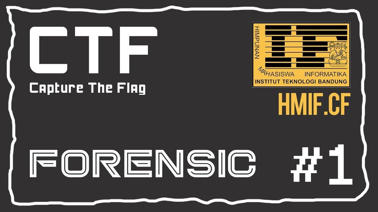 [CTF] HMIF cf - Forensic #1