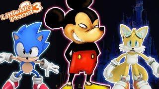 Sonic Goes to Disney | LittleBigPlanet 3