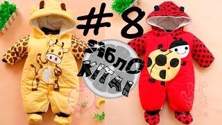 Одежда из китая #8 . Посылка. Детский комбинезон . Kids rompers