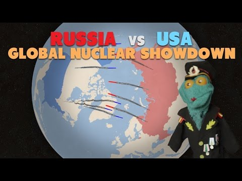 Russia v USA: Global Nuclear Showdown (2017)