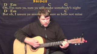 Honey, I'm Good (Andy Grammer) Strum Guitar Cover Lesson in G with Chords/Lyrics