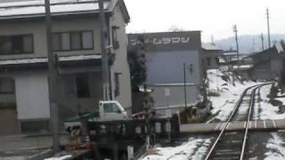 JR飯山線 前面展望 北飯山駅~飯山駅