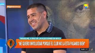 Juan Román Riquelme en Intrusos - Entrevista completa