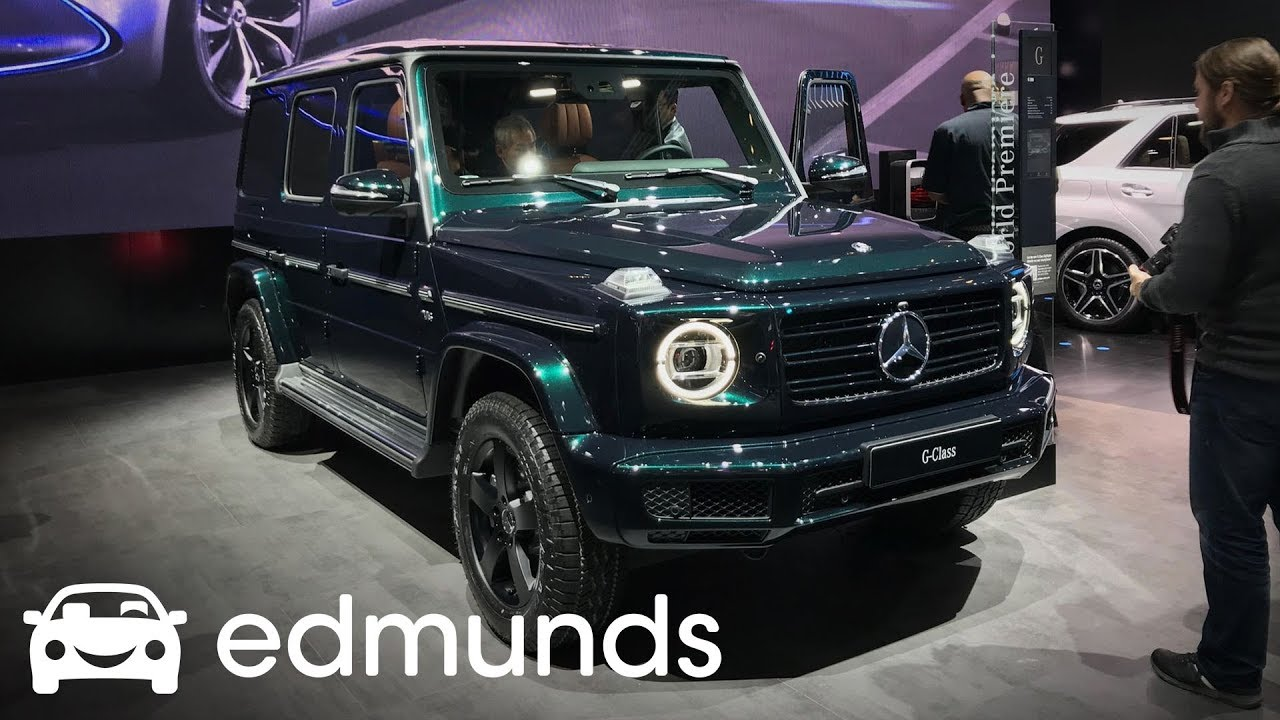 2019 Mercedes-Benz G-Class Prices, Configurations, Reviews