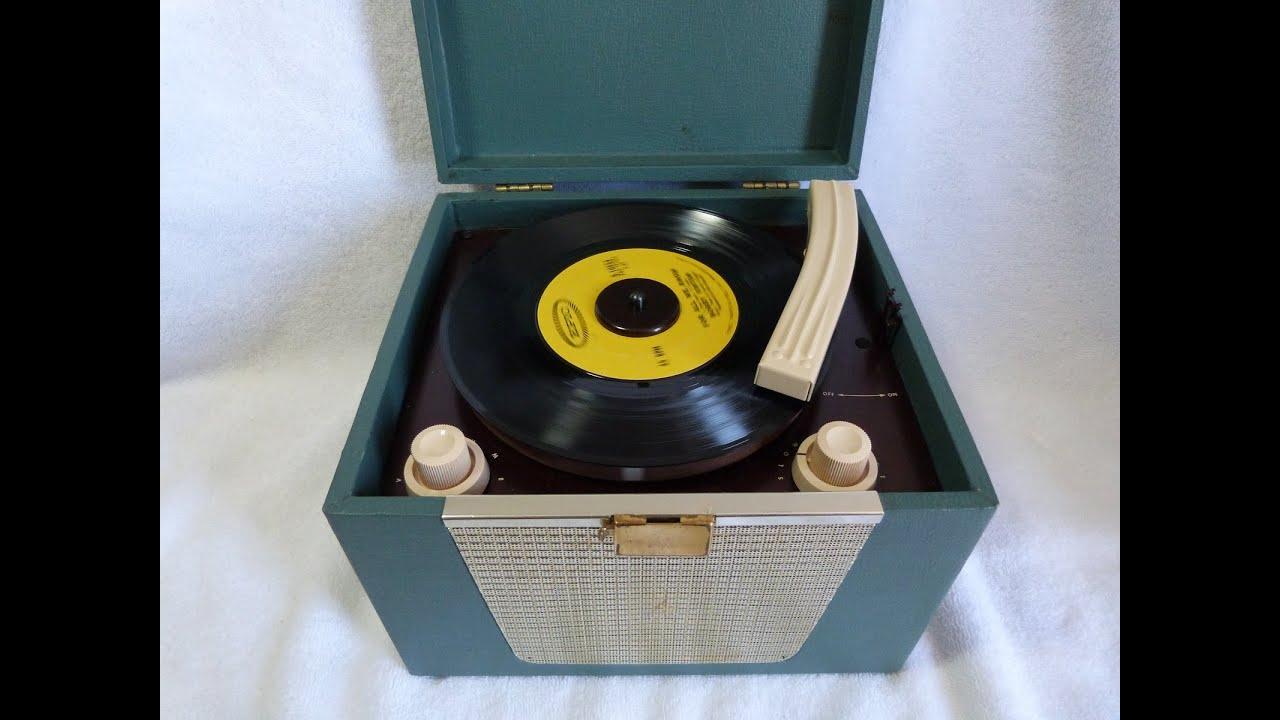 World' -transistor Record Player Philco Tpa-1